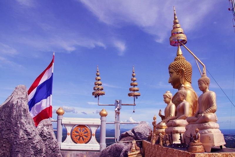 Храм тигров в Таиланде. Фото