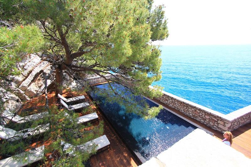 Остров-отель Свети-Стефан. Черногория. Фото