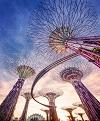 Футуристические сады у залива, Сингапур (22 фото)
