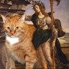 Вторжение кота в шедевры мировой живописи