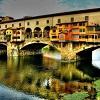 Золотой мост Понте Веккьо во Флоренции. 15 фото