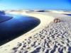 Белые пески и озера пустыни Ленсойс Мараньенсес (30 фото)