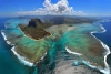 Оптическая иллюзия подводного водопада, Маврикий (12 фото)