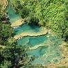 Семук Чампей - затерянный рай в Гватемале (8 фото)
