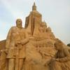 Скульптуры из песка - достопримечательность Лаппеенранты (Финляндия)