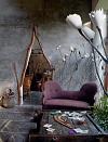 Сказочный дом художницы в провинции Фландрия, Бельгия (12 фото)