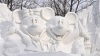 Снежный фестиваль в Саппоро, Япония (30 фото)