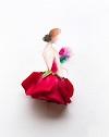 Рисунки из цветов и акварели от Лимзи (30 фото)